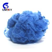 hot selling recycled grade PSF polyester staple fiber in solid style 1.4D*38mm