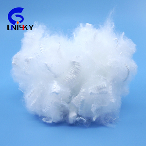 virgin whiter polyester staple fiber with Great Low Price!