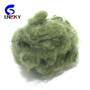Color Polyester Staple Fiber Recycled For High Quality/Polyester Staple Fibre