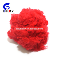 Recycled flame retardant polyester staple fiber psf with Great Low Price for spinning or non-woven