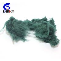 100% psf 4D plastic pet solid recycled polyester staple fiber