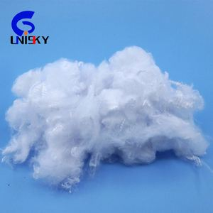 100% virgin polyester staple fiber 1.4d x 38mm for spinning