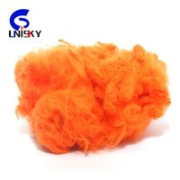 recycled Polyester staple fiber solid fiber for carpet production