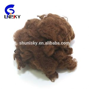 recycled colored polyester staple fibre / PSF